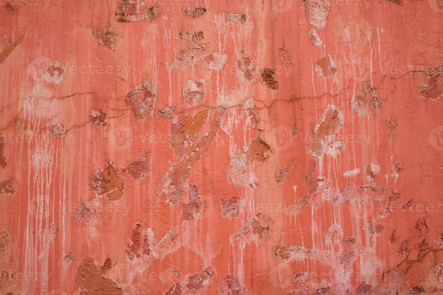 färgglada mönster och texturer av gammal cementvägg för bakgrund foto
