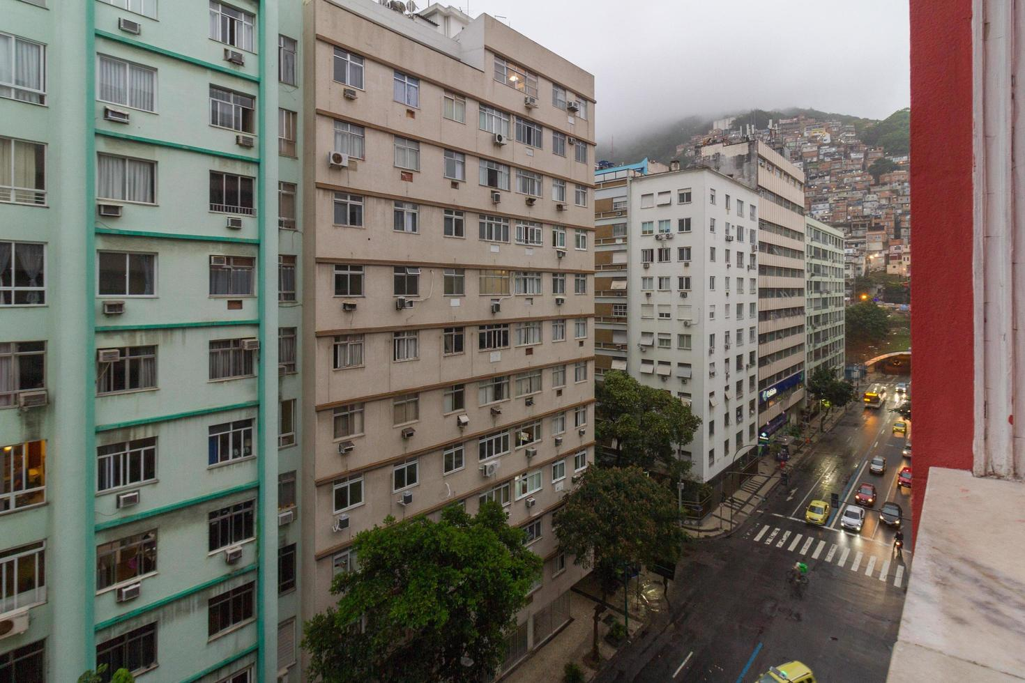 Rio de Janeiro, Brasilien, 2015 - Copacabana stadsdel foto