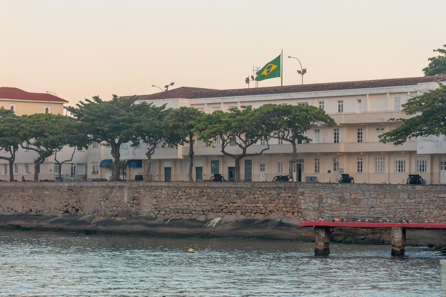 Rio de Janeiro, Brasilien, 2015 - Copacabana Fort i Rio de Janeiro foto