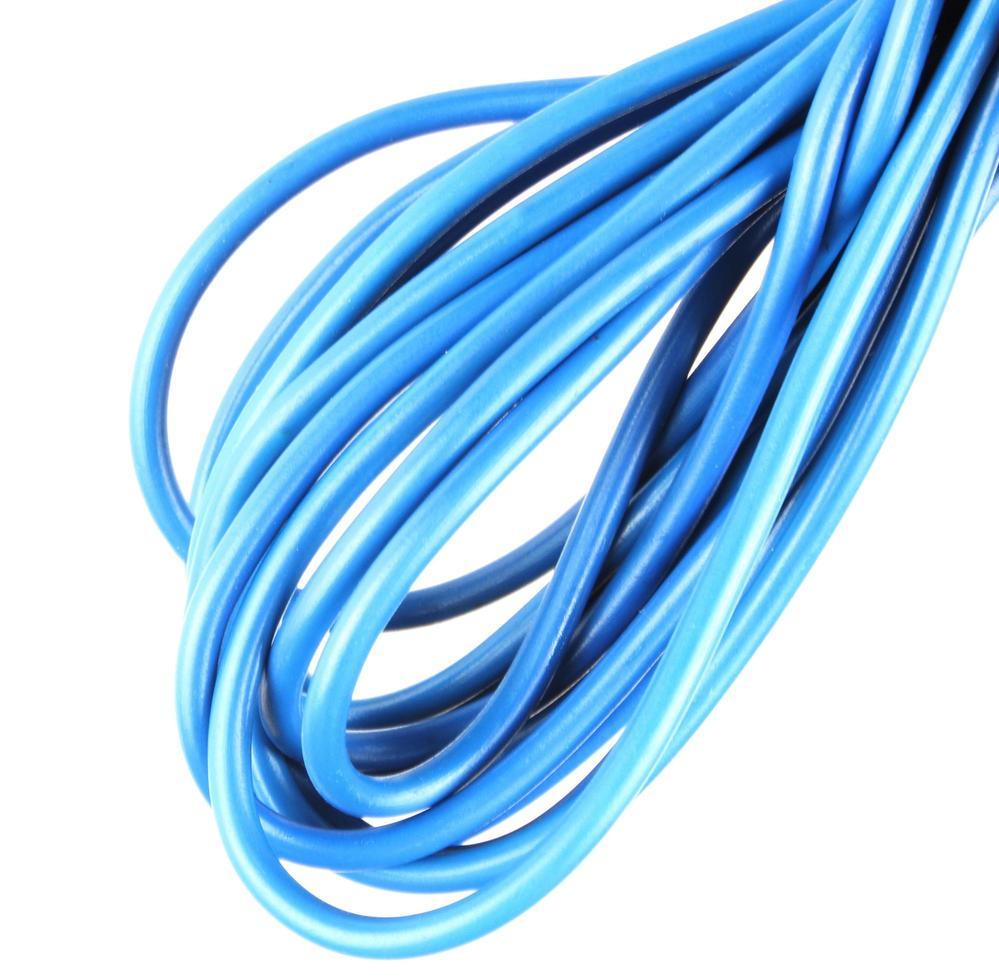 blå elkabel foto