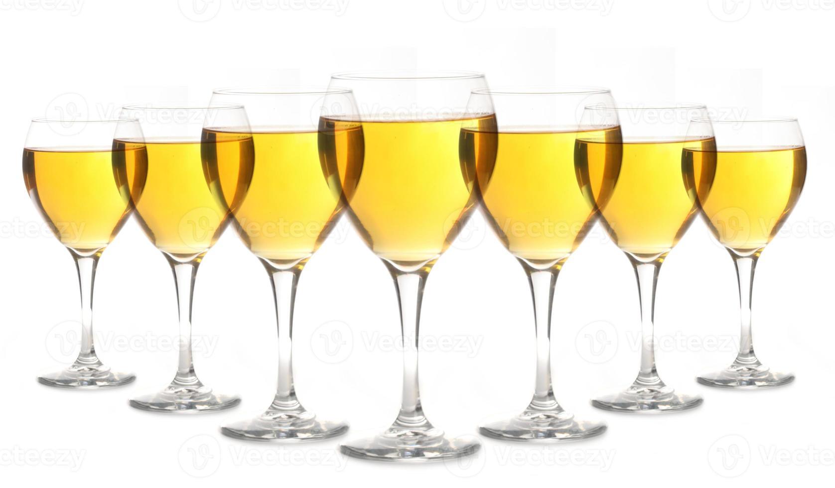 glas guldalkohol foto