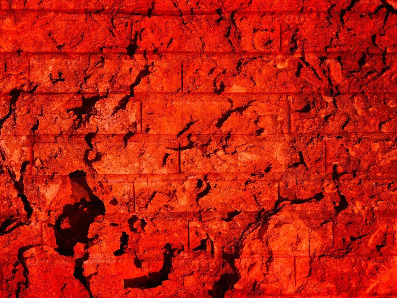 röd stenstruktur foto