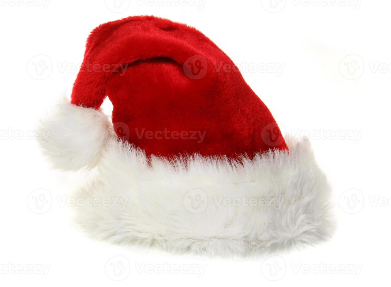 jultomten hatt på vitt foto