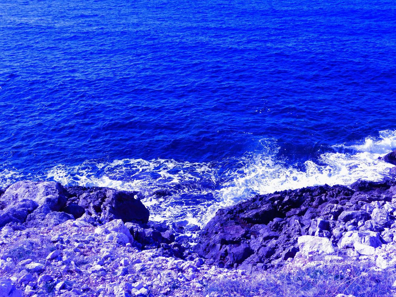 utomhus hav om dagen foto