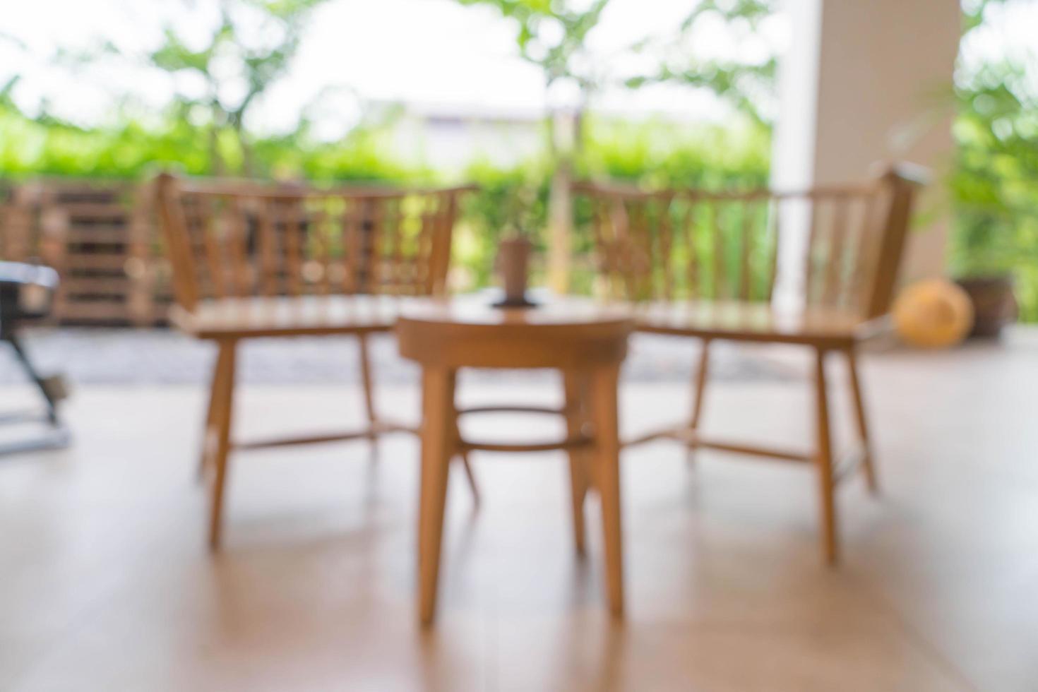 oskärpa kafé eller kaférestaurang foto