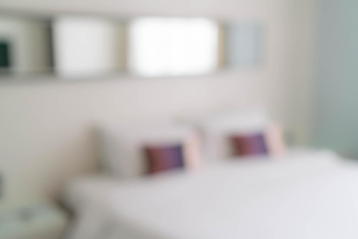 abstrakt oskärpa vackra lyxiga sovrum interiör foto