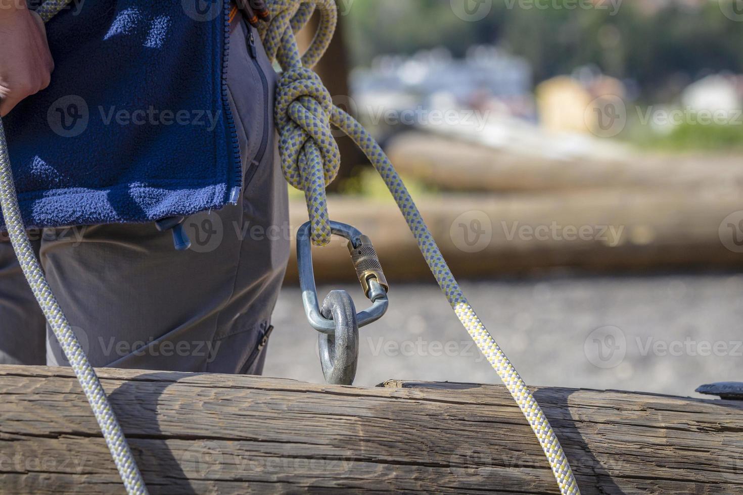 zipline äventyrsaktivitet säkerhet foto