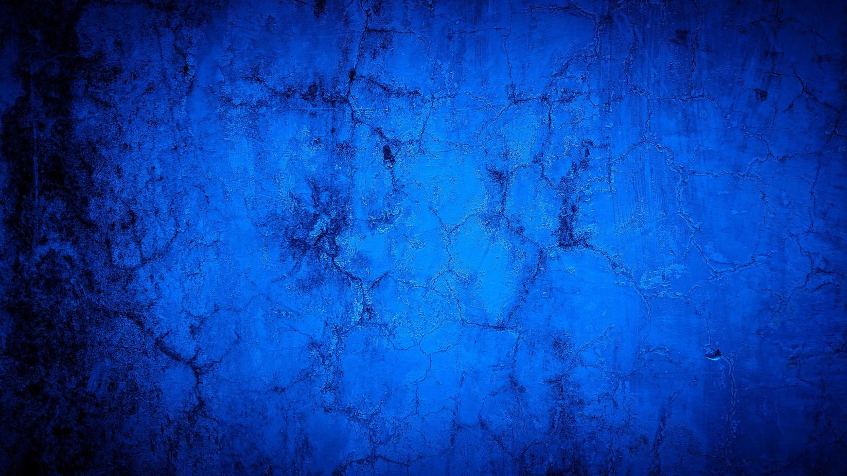 grunge bakgrund av blå väggfärg foto