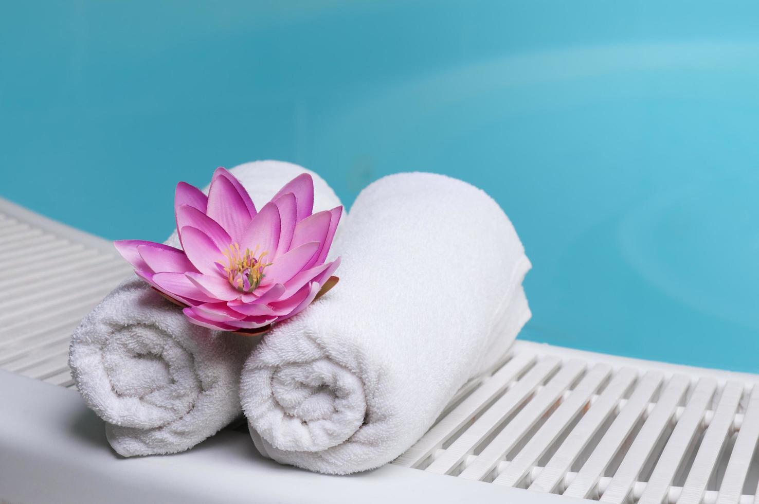 vacker spa -utrustning foto