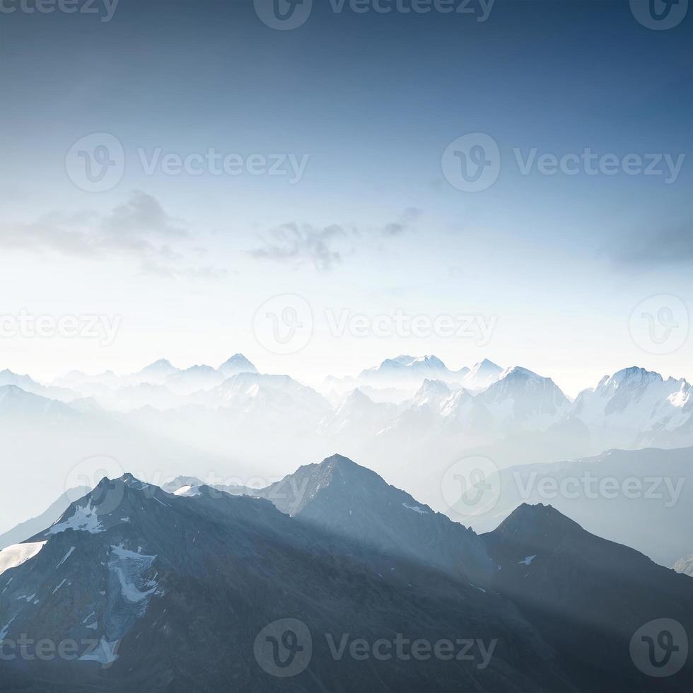 höga berg foto