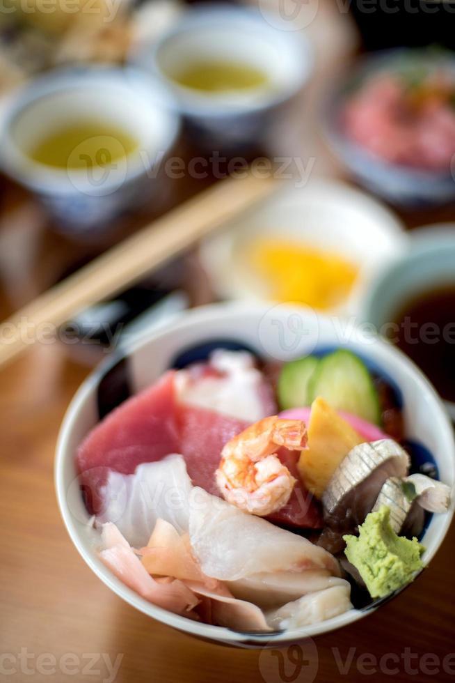 sushi sashimi foto
