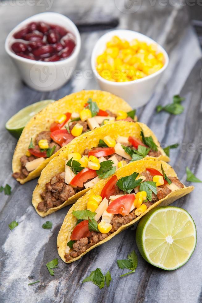 läckra tacos foto