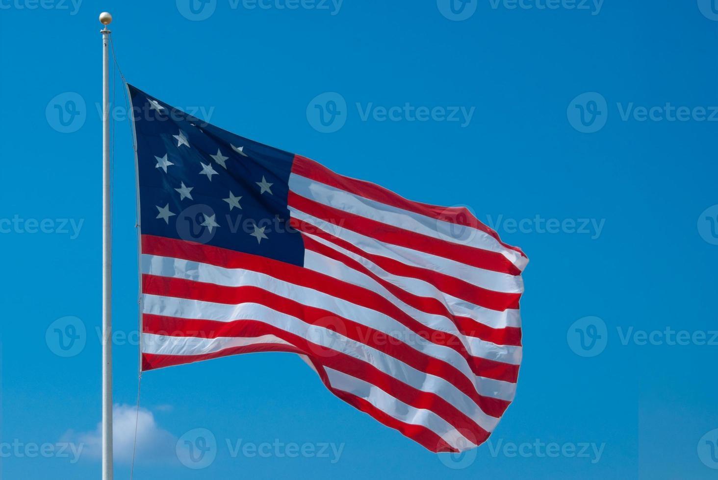 stjärnan spangled banner flagga - Baltimore, Maryland foto