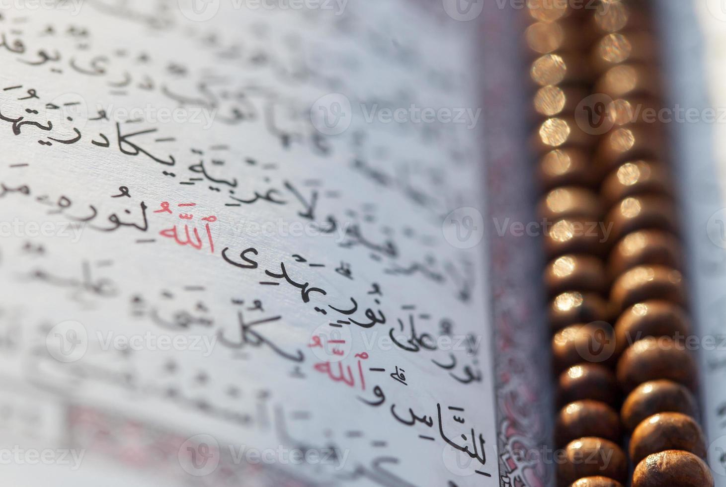 Koran med radband foto