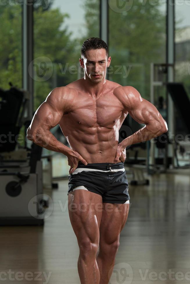 muskulösa män foto
