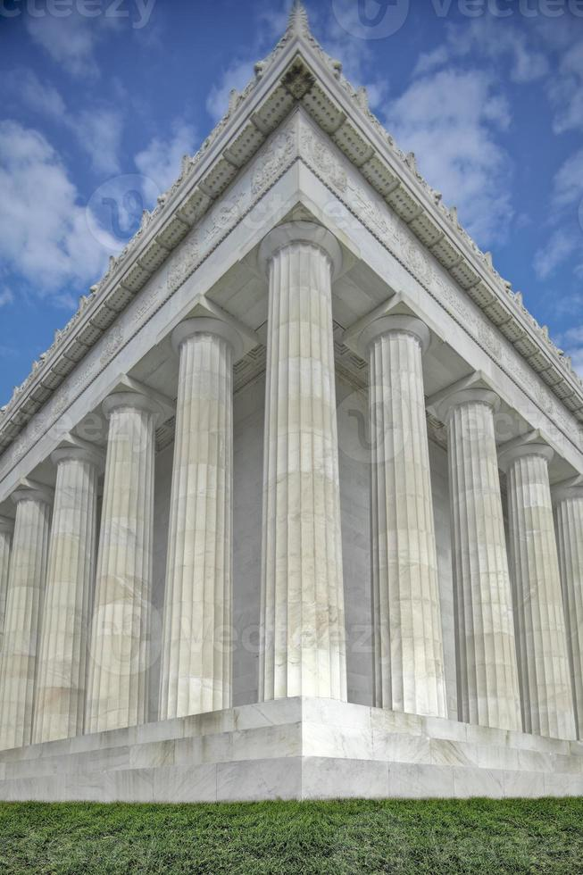 Lincoln minnesmärke foto