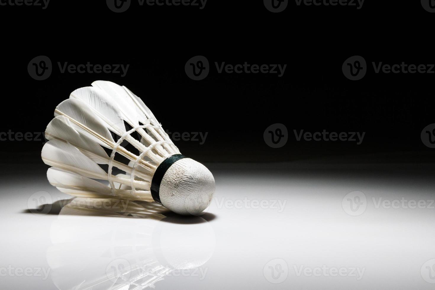shuttlecock sportlight foto