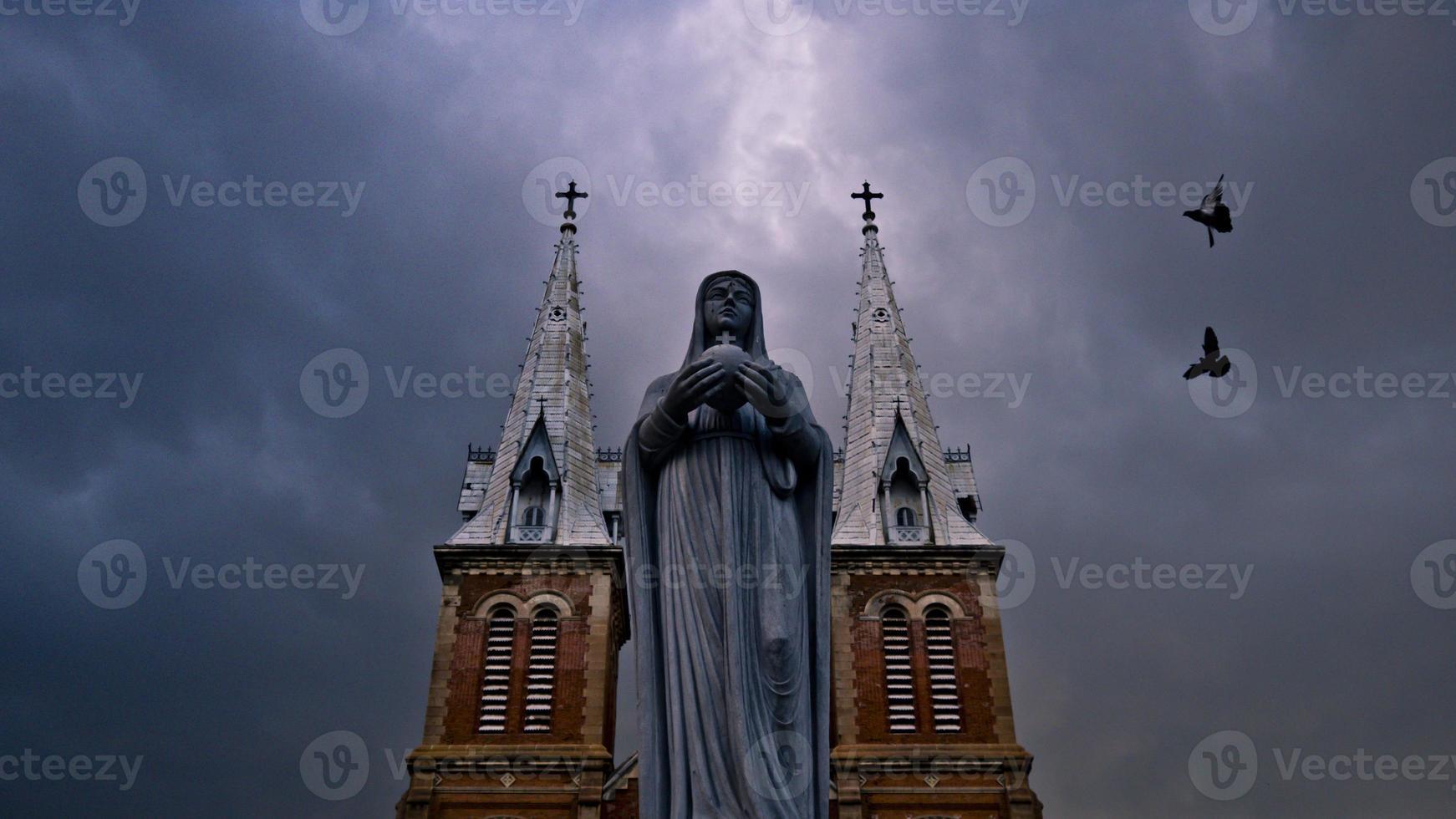 Notre Dame katedral Vietnam foto