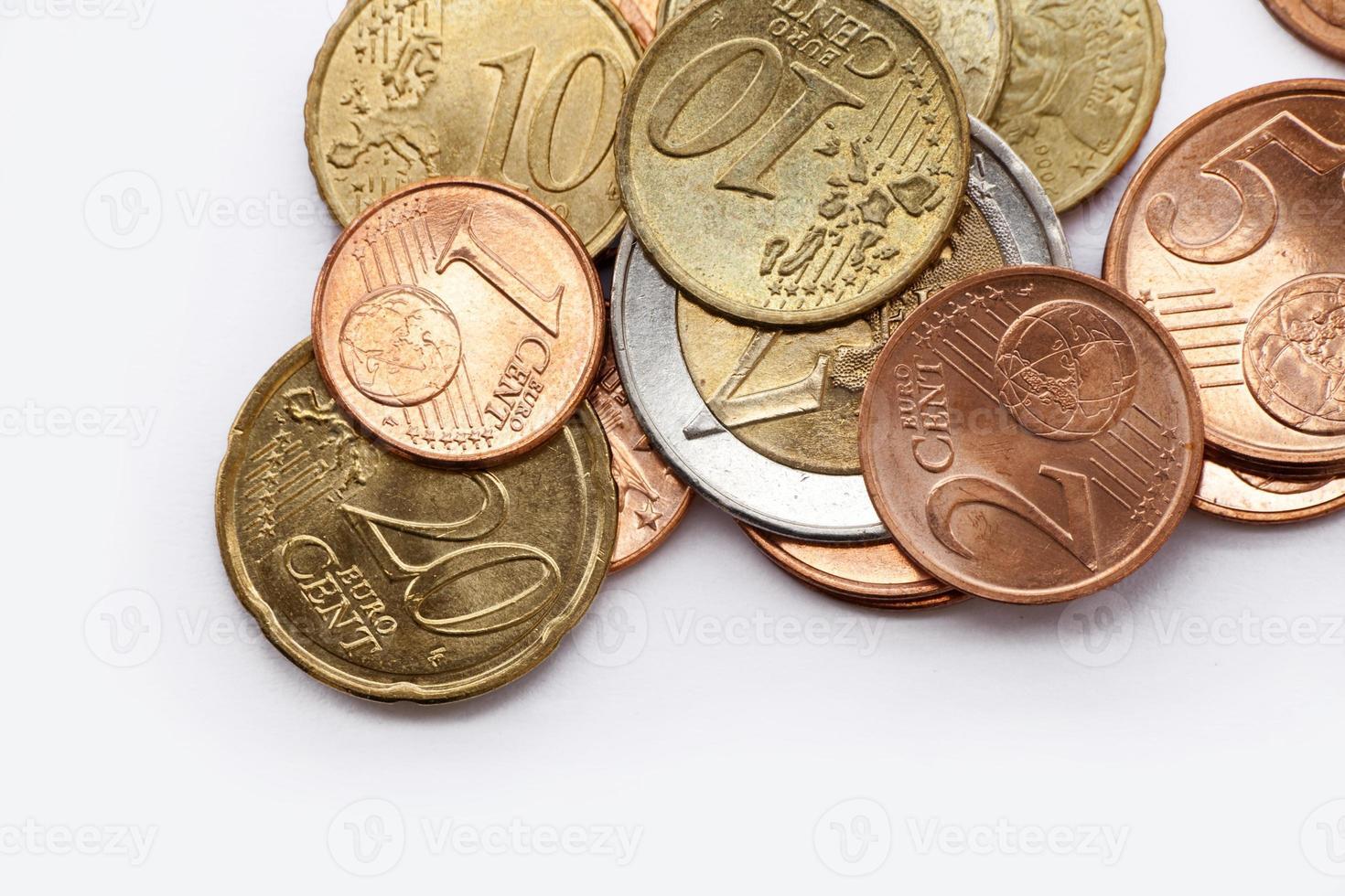 pengar - euromynt foto