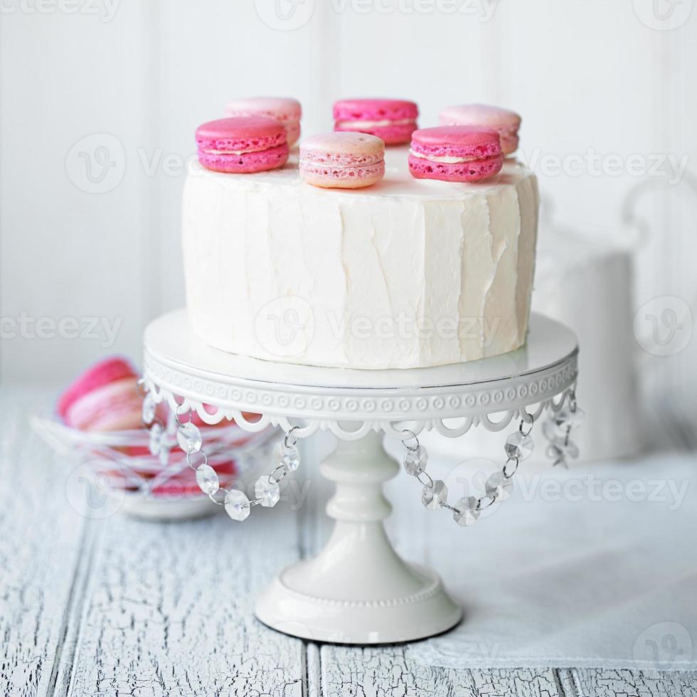 macaron lager tårta foto