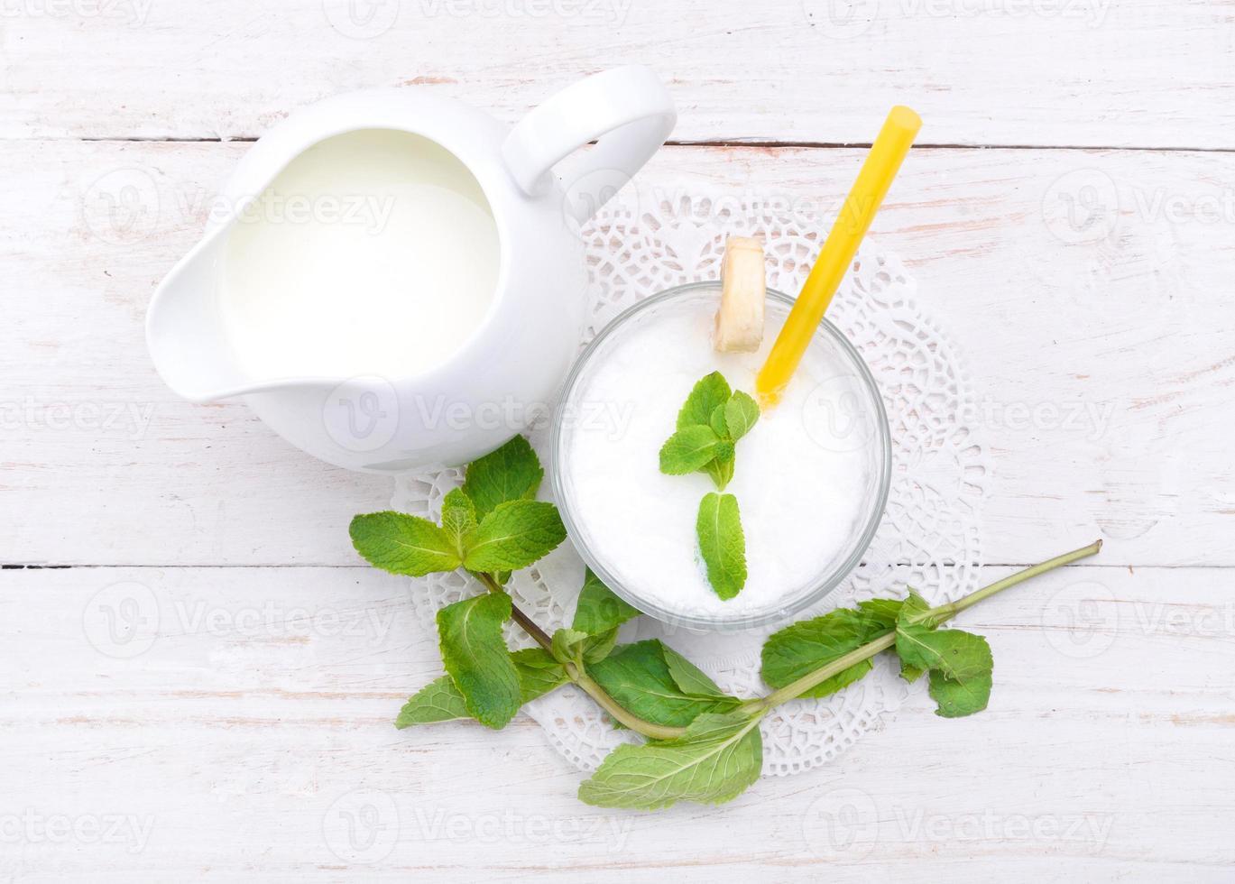 milkshake. foto
