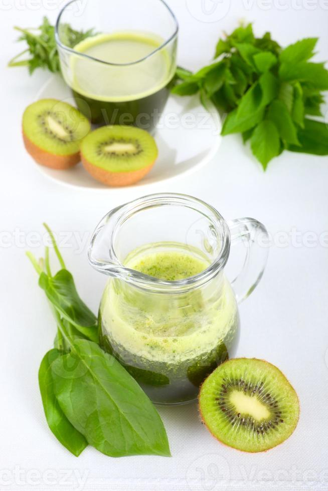 grön smoothie foto