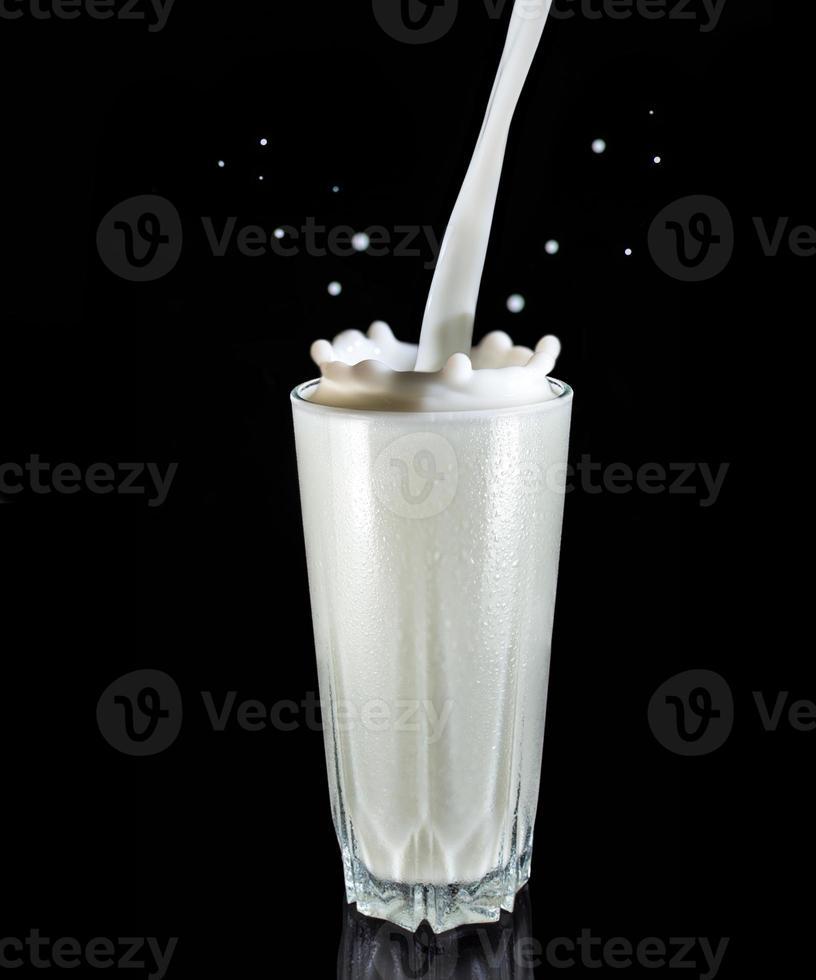 mjölkstänk foto