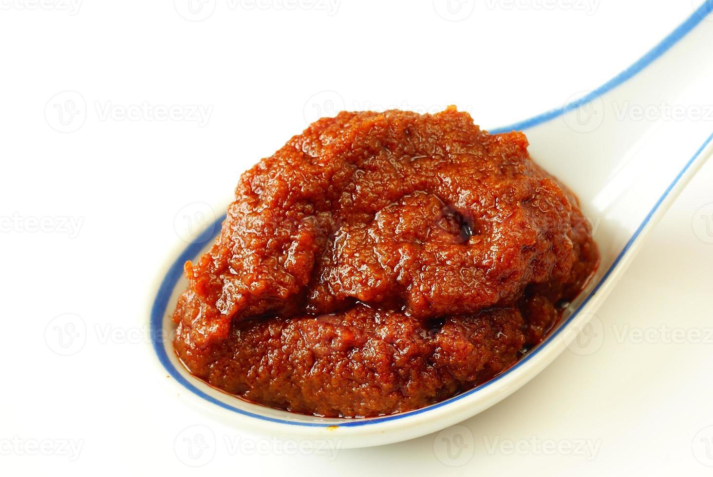 röd curry pasta foto