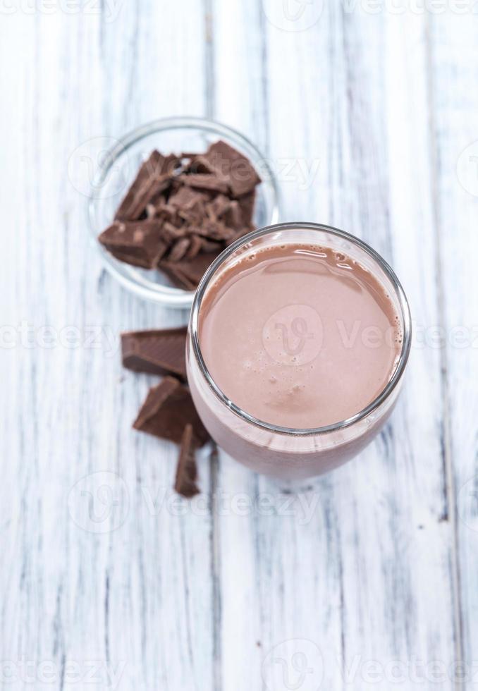 kall chokladmjölk foto