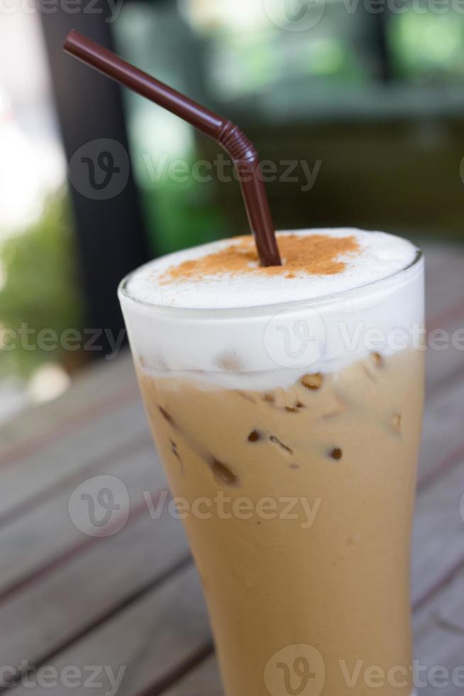 iced cappuccino (iskaffe) foto