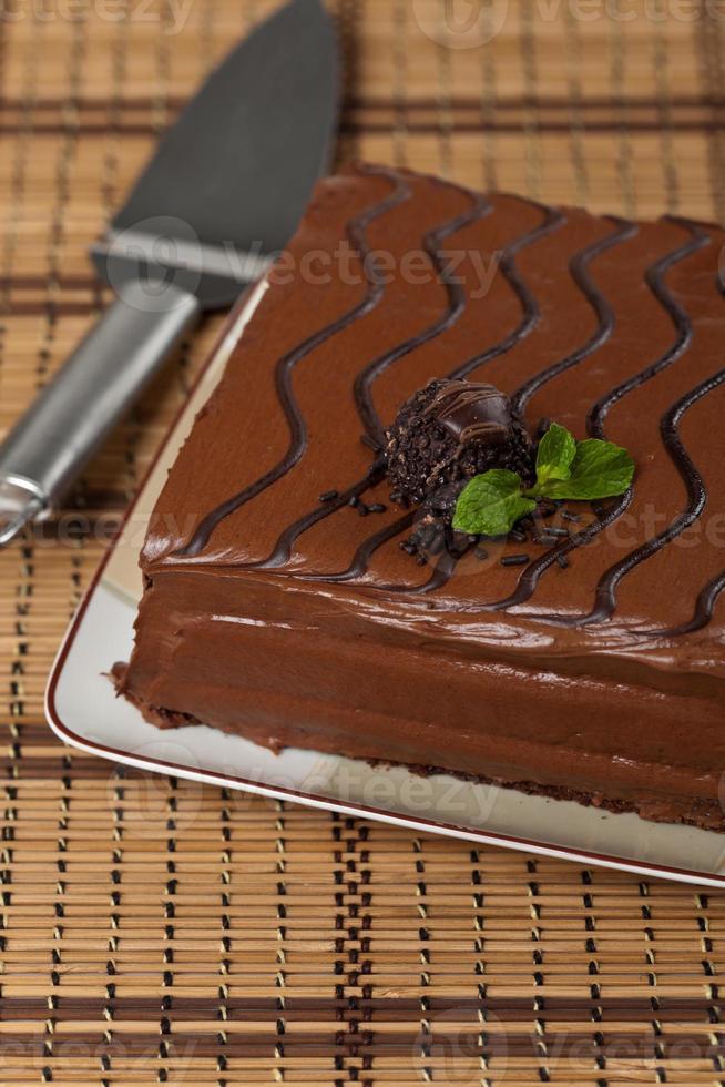 chokladark tårta foto