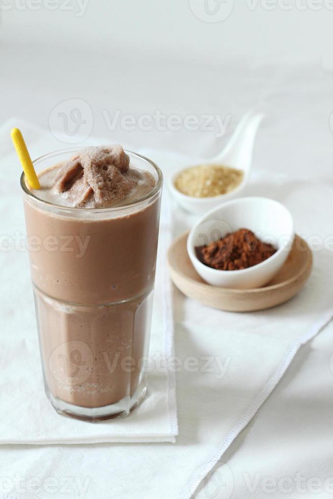 choklad smoothies foto