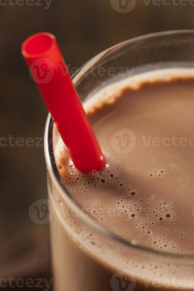 uppfriskande läcker chokladmjölk foto