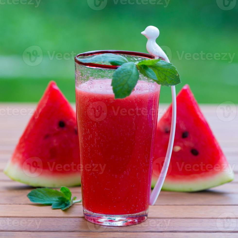 vattenmelon smoothie foto
