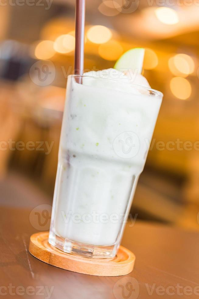 smoothie äppeljuice foto