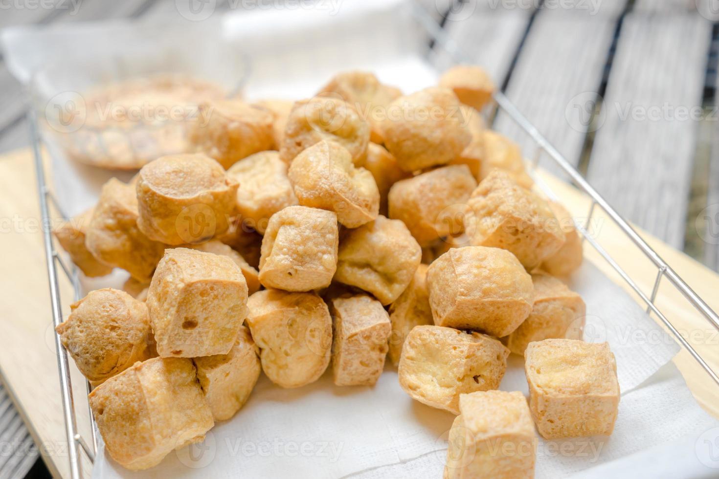 stekt tofu foto