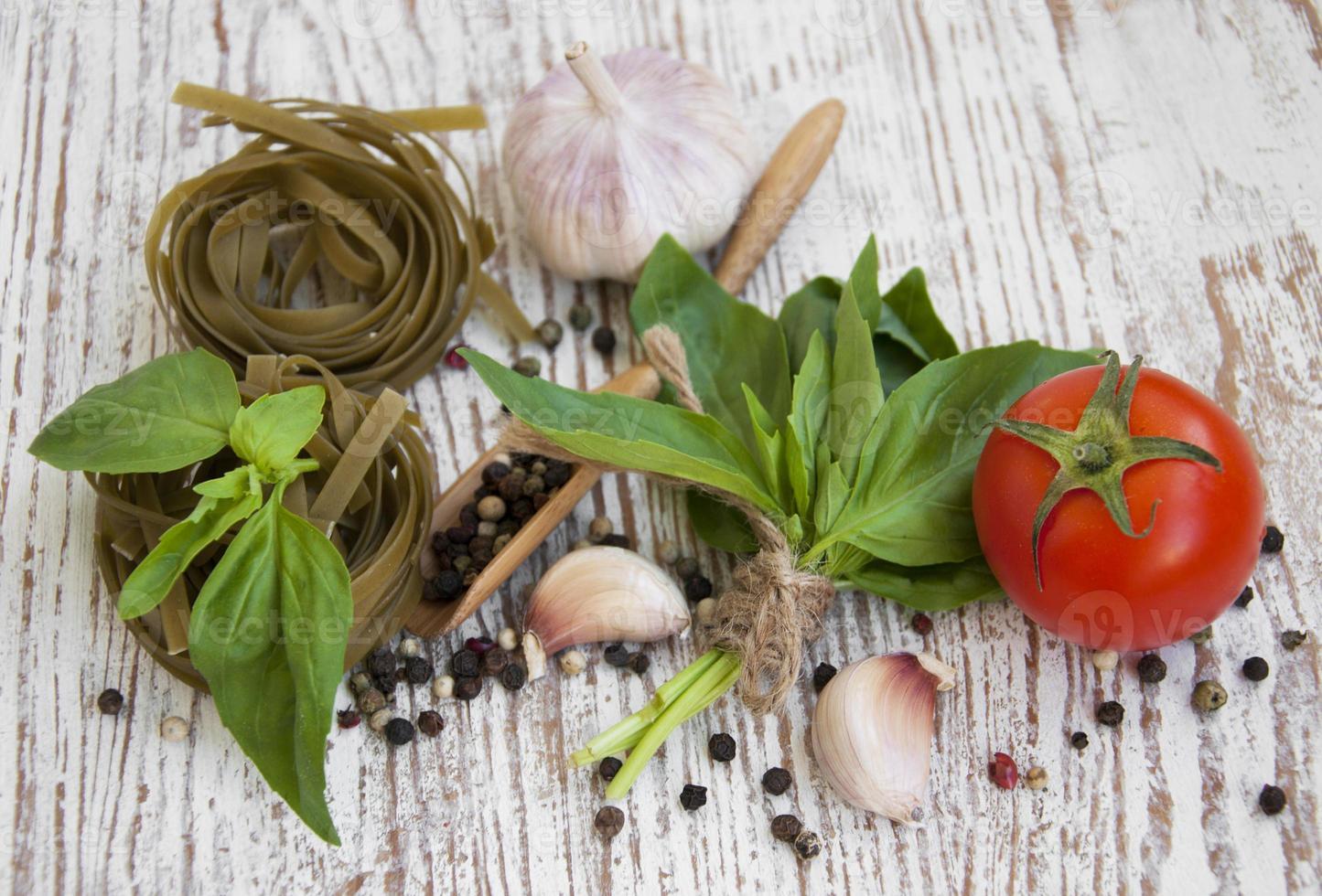 hälsosamma ingredienser foto