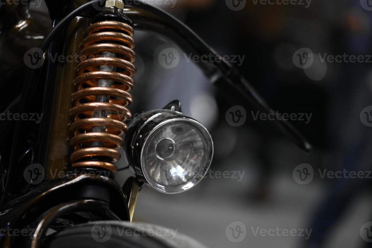motorcykelupphängning foto