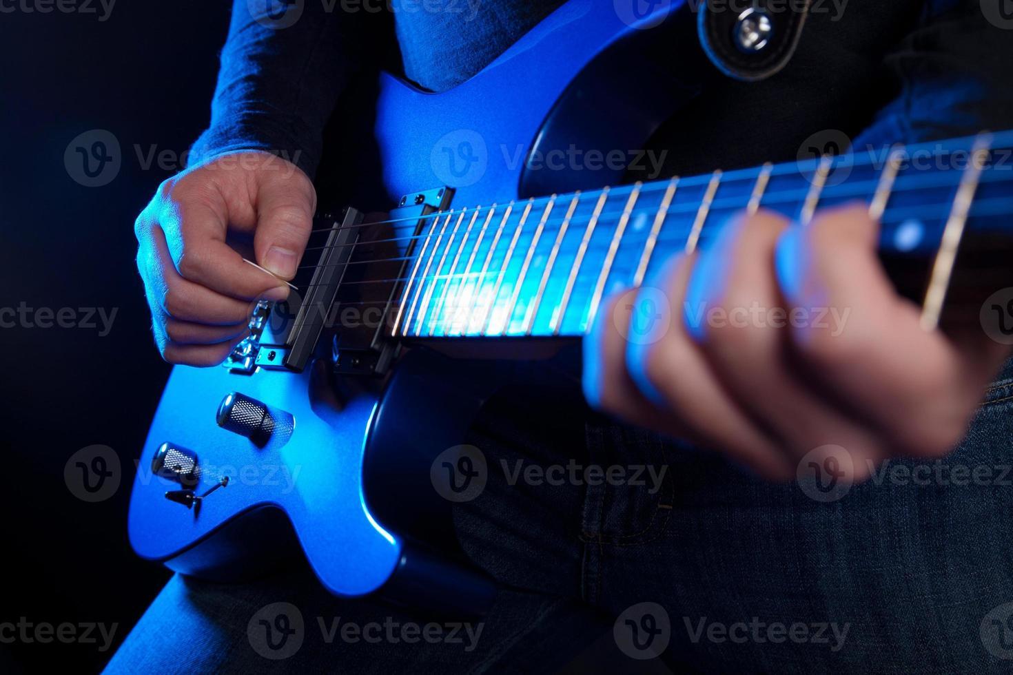 rockgitarrist foto