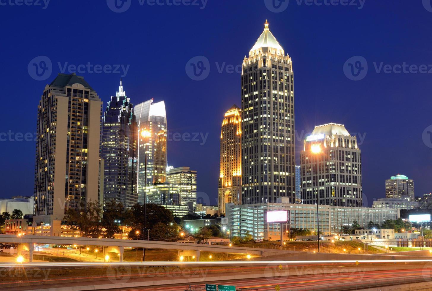 mitt i Atlanta foto