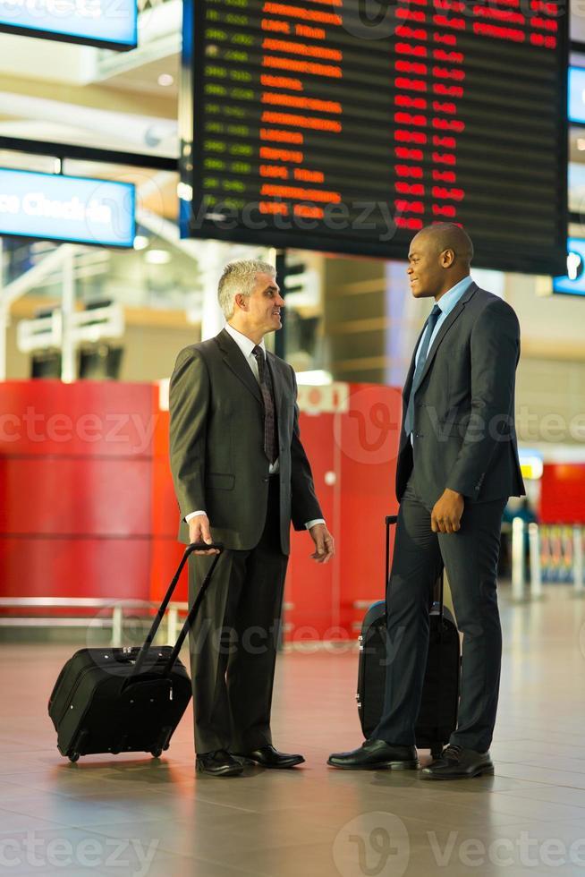affärsmän som reser tillsammans foto