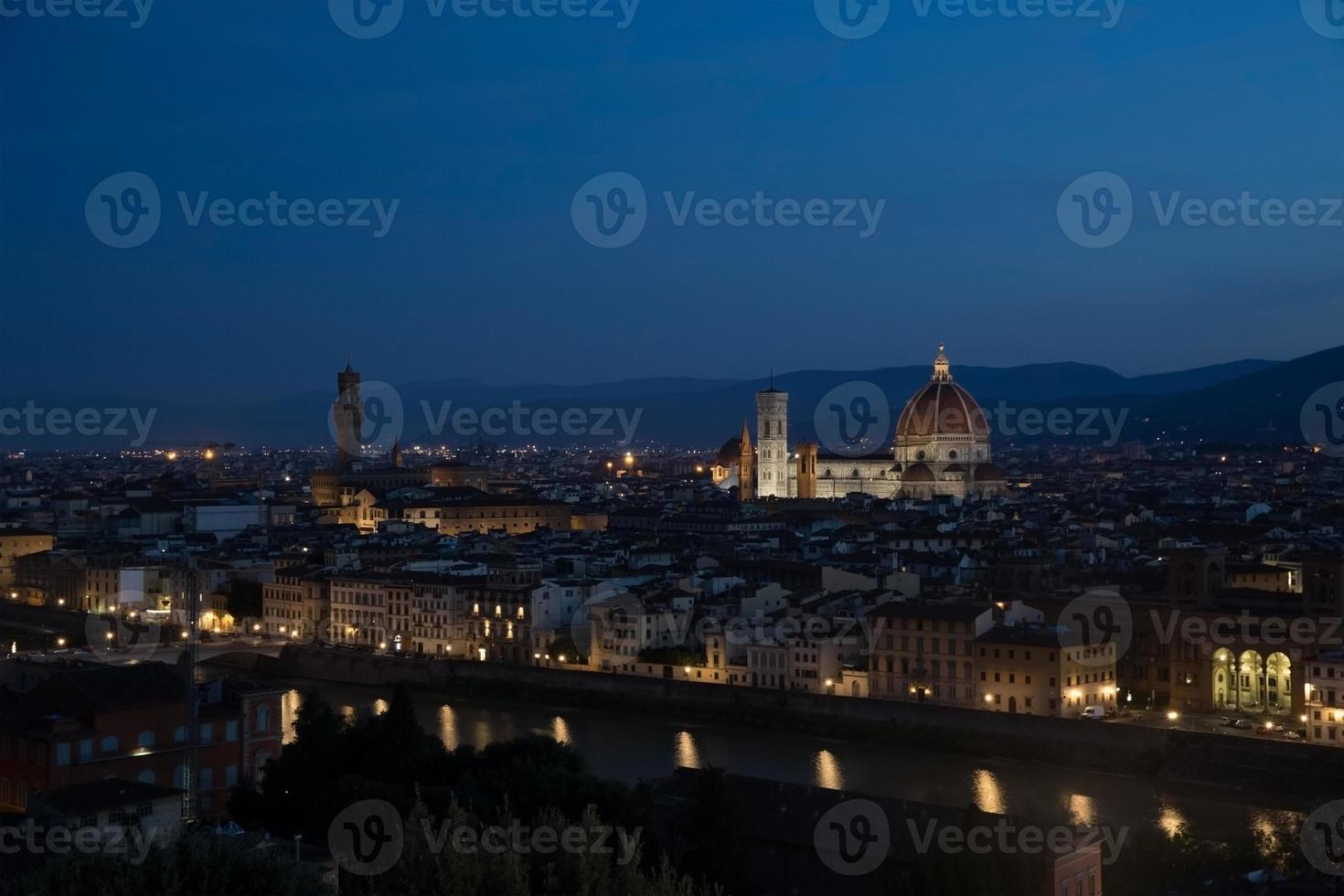 tidigt på morgonen Florenslandskap foto