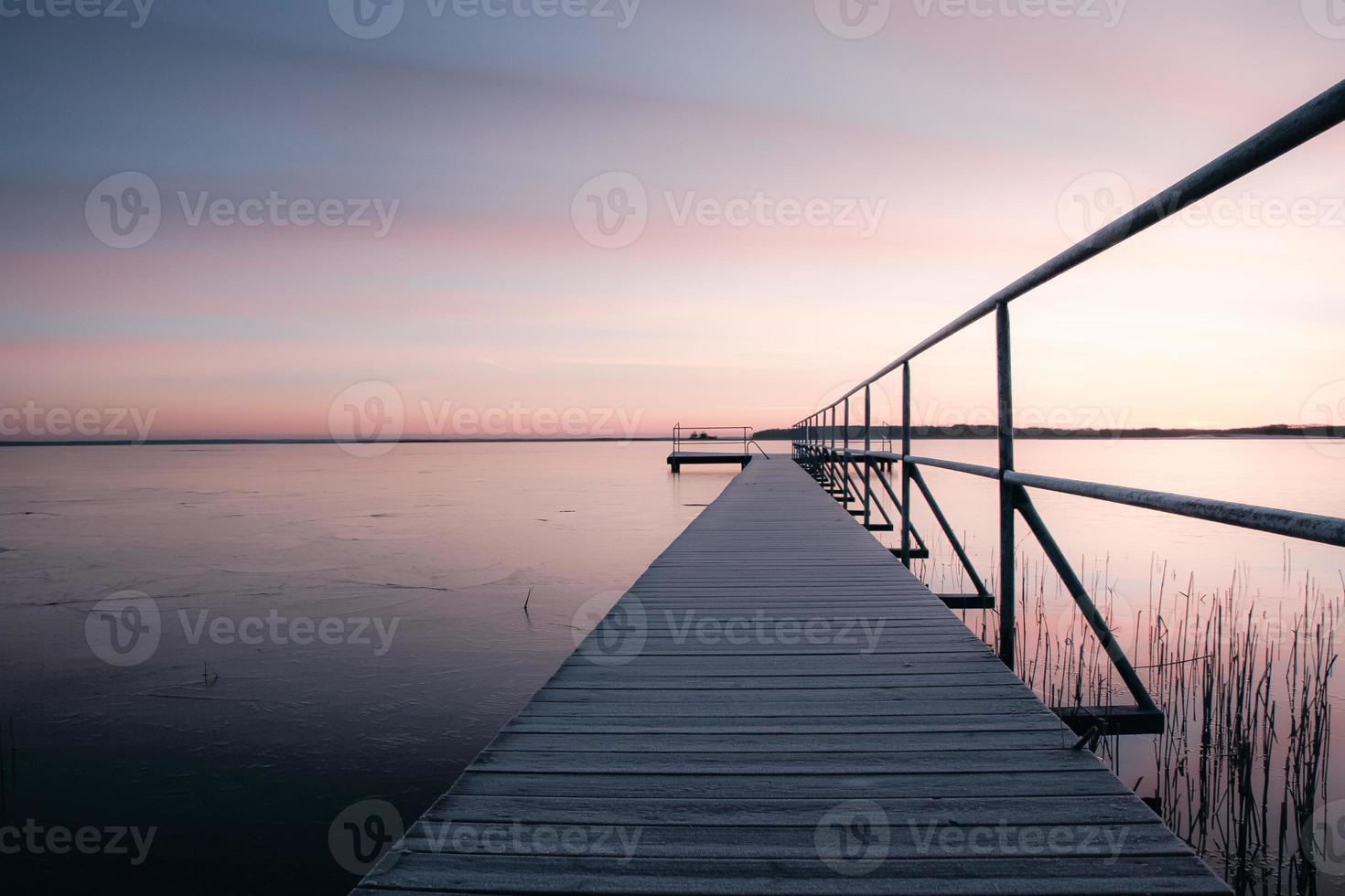 sjön bank foto