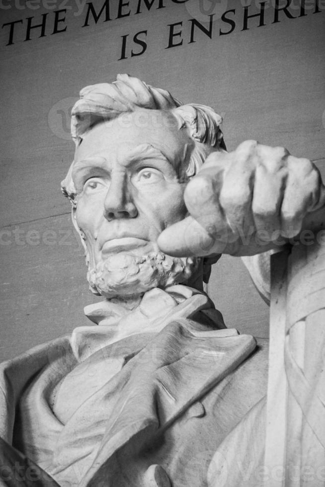 lincoln, en arvs president. Washington DC foto