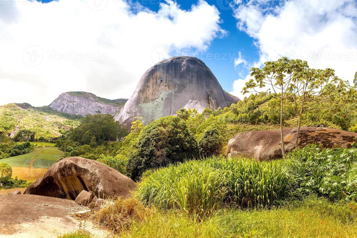 blå sten, pedra azul domingos martins espirito santo brazil foto