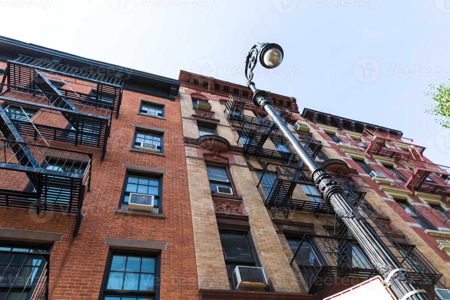 västby i new york manhattan byggnader foto