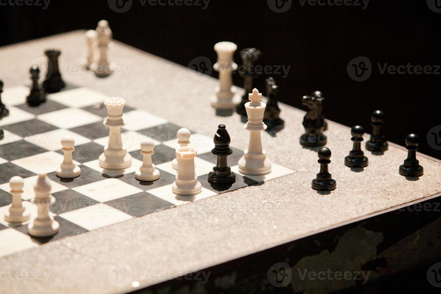 gata schackbräde foto