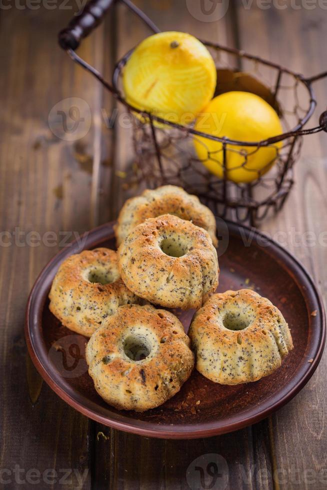 muffins med citron foto