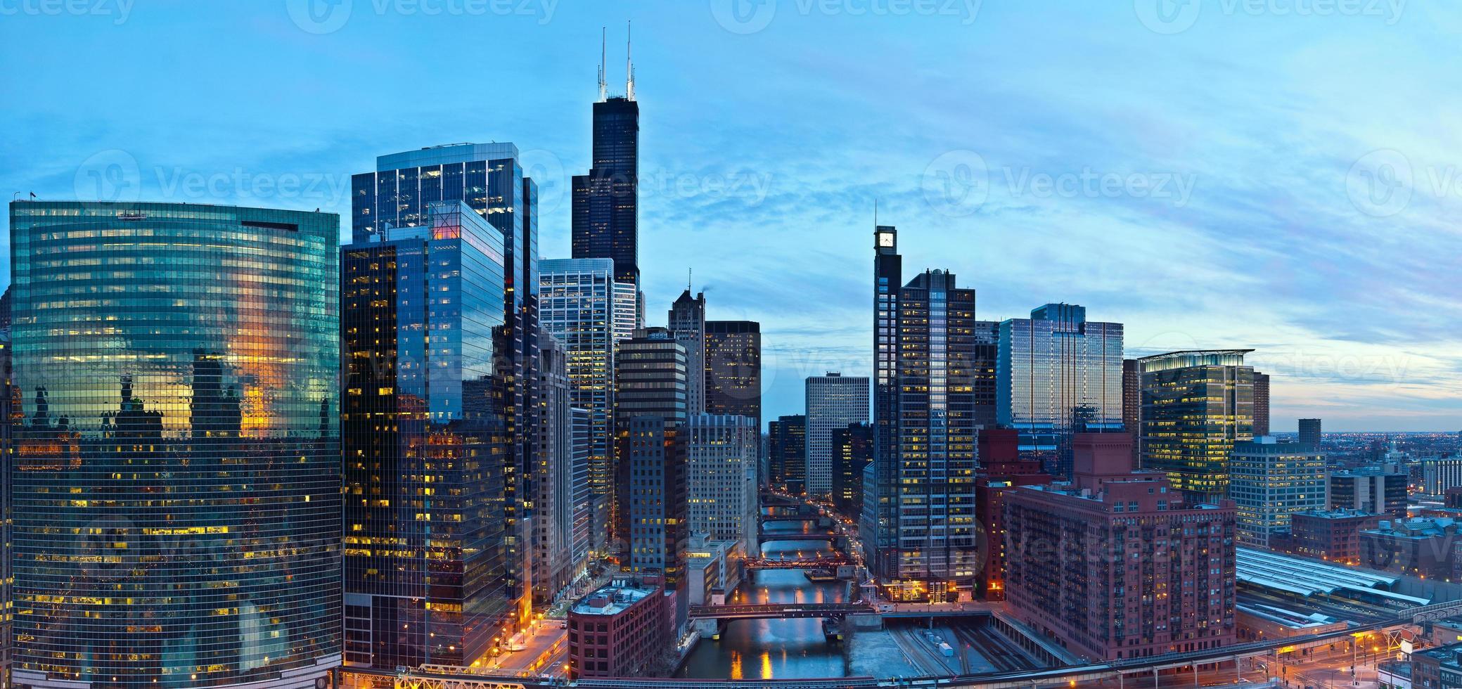 stad i Chicago foto