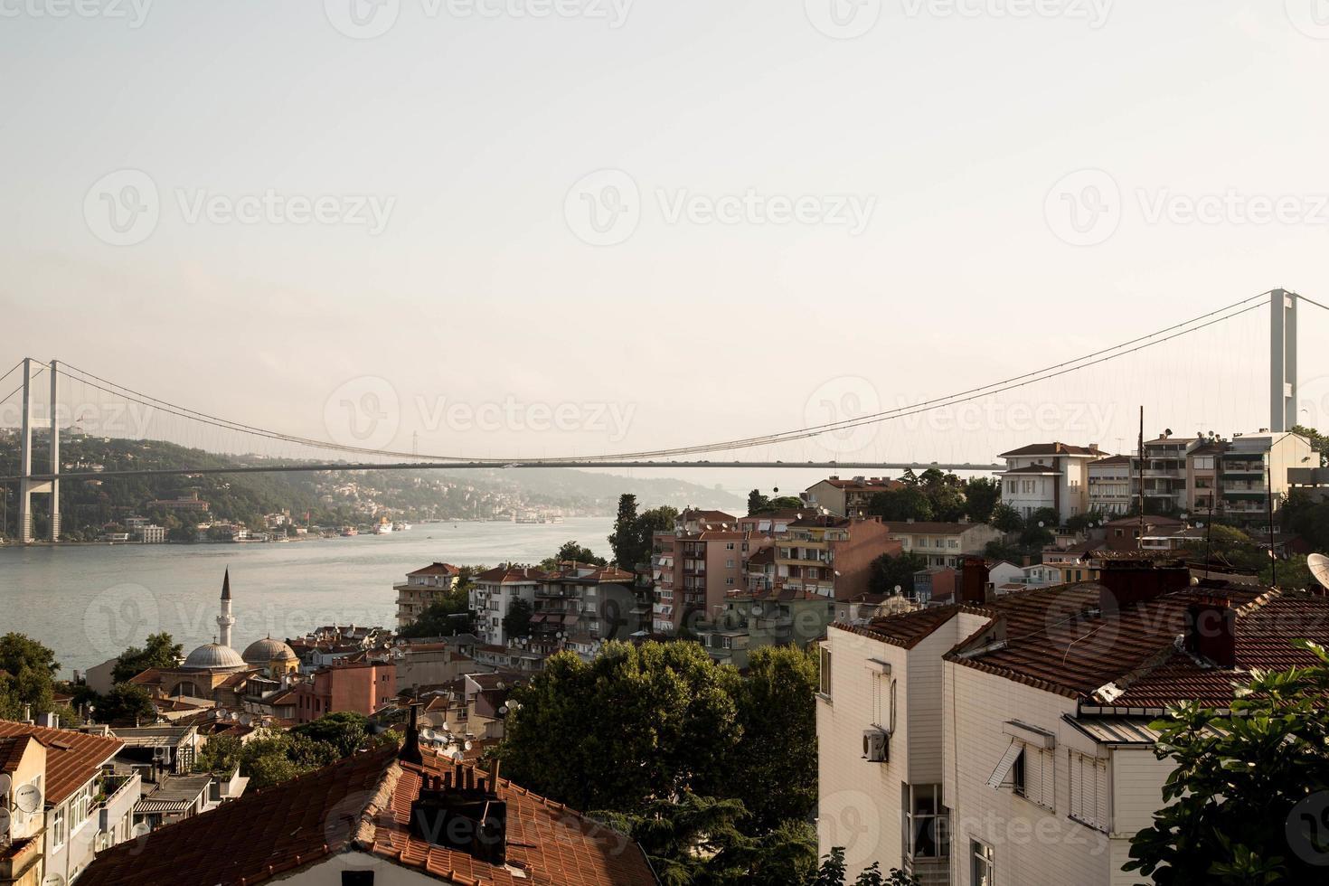 utsikt över bosporus foto